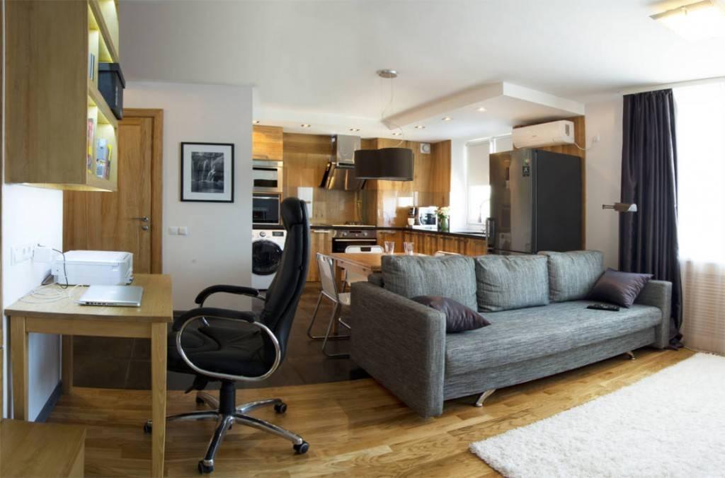 Дизайн маленькой студии: как правильно оформить квартиру