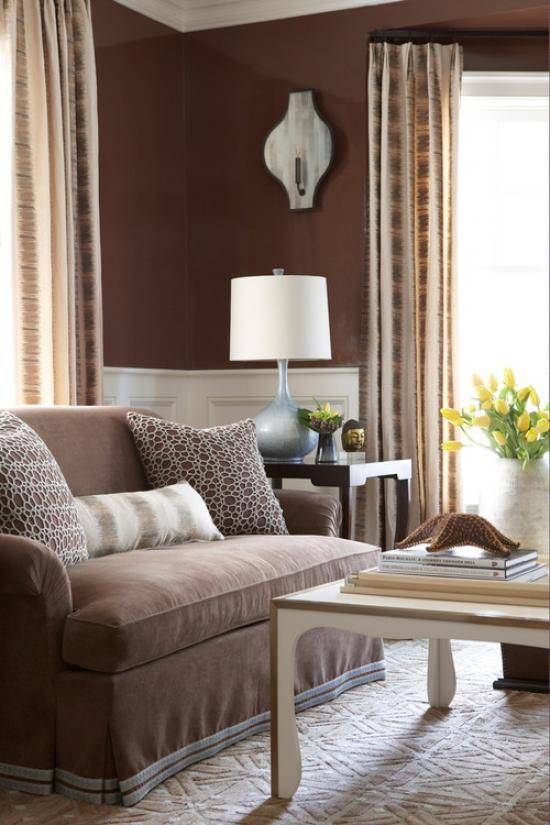 Трендовые и универсальные цвета диванов, особенности их сочетания