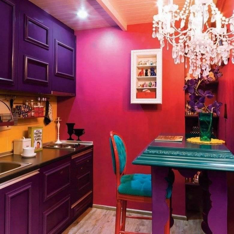 Цвет фуксии в интерьере вашего жилища - 67 фото примеров