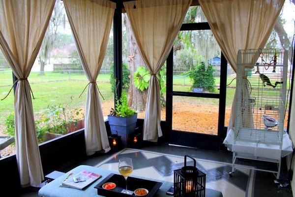 Как сшить шторы на веранду своими руками - блог о строительстве