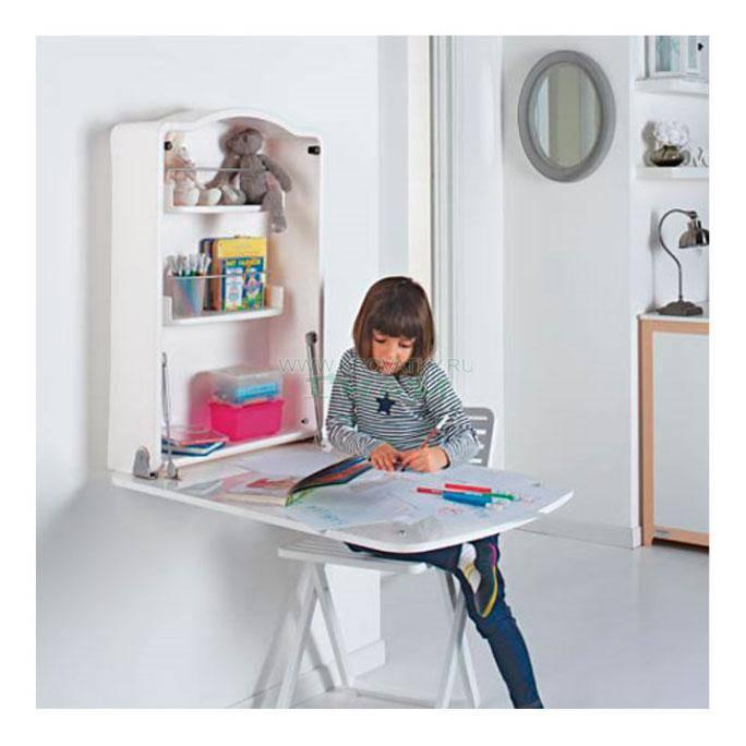 Варианты стиля и дизайна откидного стола в интерьер балкона или лоджии