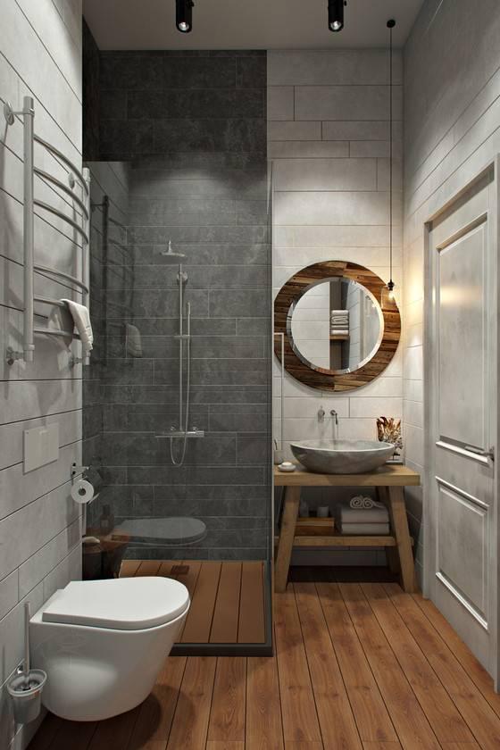Туалет в стиле лофт (38 фото): дизайн для квартир, особенности при очень маленькой площади, нюансы интерьера