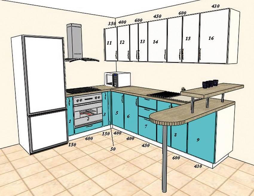 Планировка кухни в доме и квартире: 100 фото примеров в интерьере