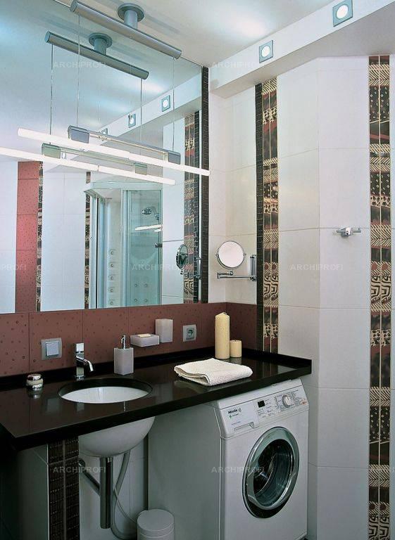 Дизайн ванной — какую столешницу выбрать