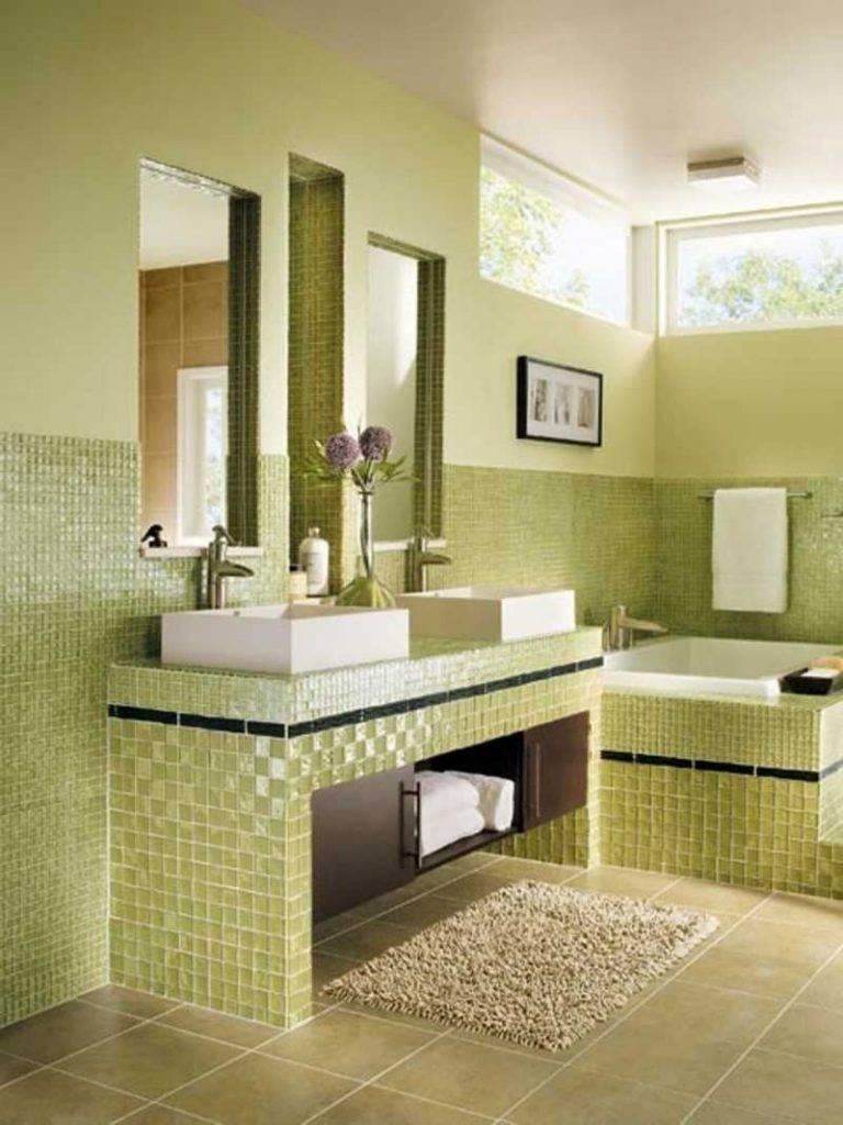 2 648 фото: маленькая ванная комната с плиткой мозаикой