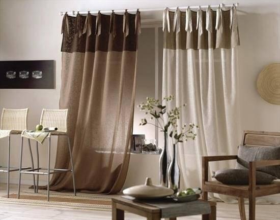 Льняной тюль (39 фото): имитация льна, шторы из турции с вышивкой в интерьере, отзывы