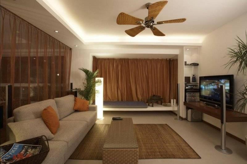 Дизайн зала в квартире, стили - фото примеров