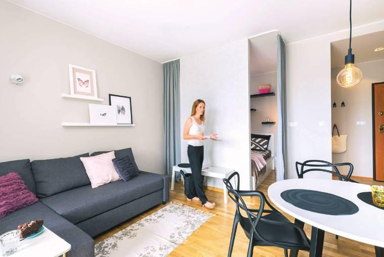 Дизайн маленькой квартиры-студии (60 фото): идеи интерьера мини-студии
