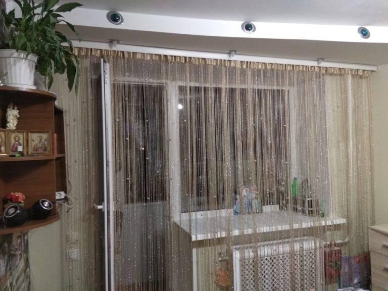 Нитяные шторы: топ-130 фото + видео вариантов штор. применение нитяных штор, их  виды и стили, преимущества и недостатки