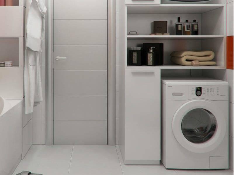 Шкафы для стиральной машины в ванной комнате (65 фото) — пеналы и тумбы, напольные, встроенные и другие виды. советы по выбору
