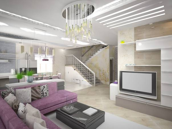 Дизайн таунхауса: 155+ (фото) проектов для современного интерьера