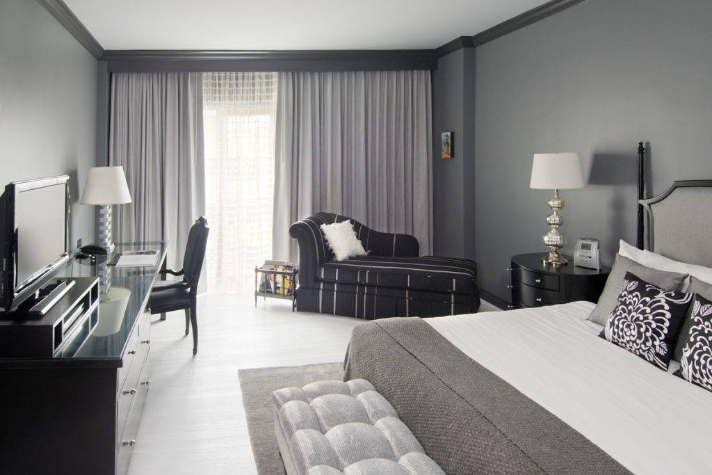 Черно белый цвет в интерьере: подходящие сочетания в дизайне интерьера (66 фото)