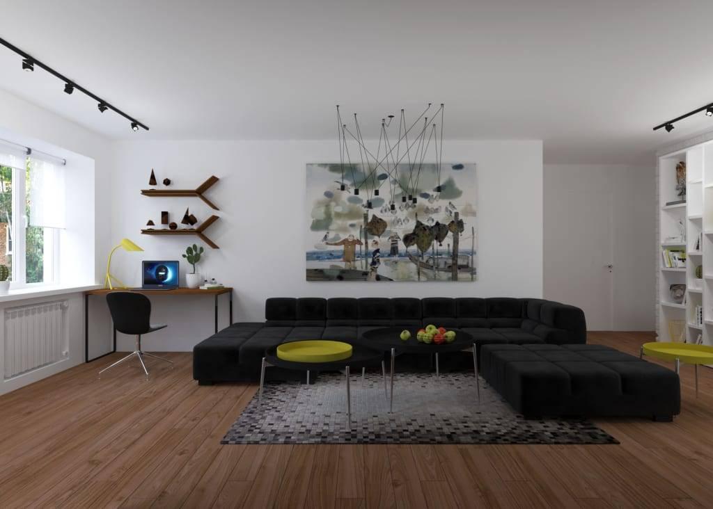 Стиль минимализм в интерьере: что это такое, дизайн и характерные черты, декор  - 31 фото