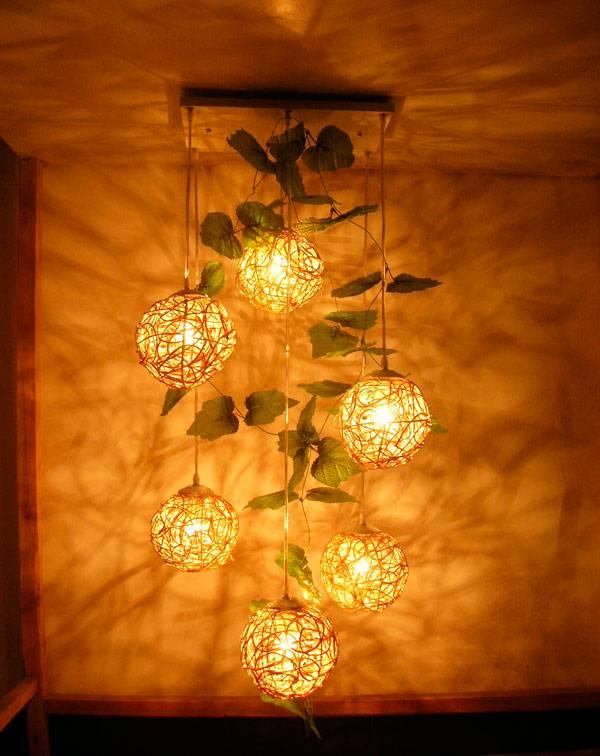 Красивые плафоны для люстр изготовленные своими руками: пошаговый мастер-класс (фото)