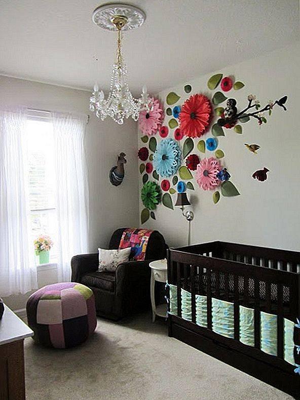 Декор детской комнаты (73 фото): как украсить стены своими руками? украшения и мебель, гирлянды из бумаги на окна, декорирование комнаты в скандинавском стиле для ребенка