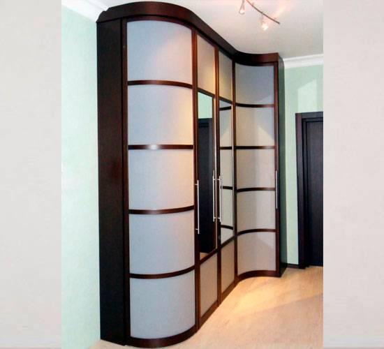 Встроенный шкаф в прихожую: красивые и оригинальные варианты шкафов (100 фото)