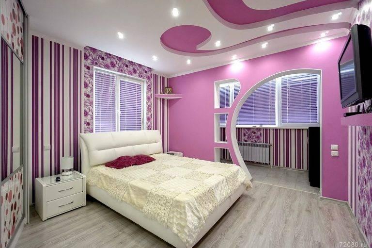 Двухуровневые потолки из гипсокартона с подсветкой (38 фото): как смонтировать