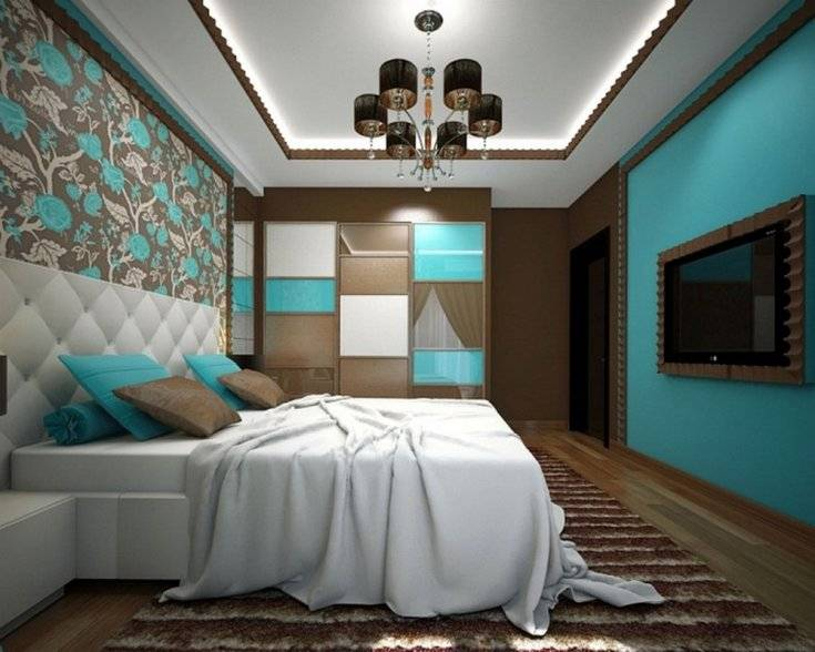 Интерьеры бирюзового цвета: топ-100 фото эксклюзивного и современного дизайна