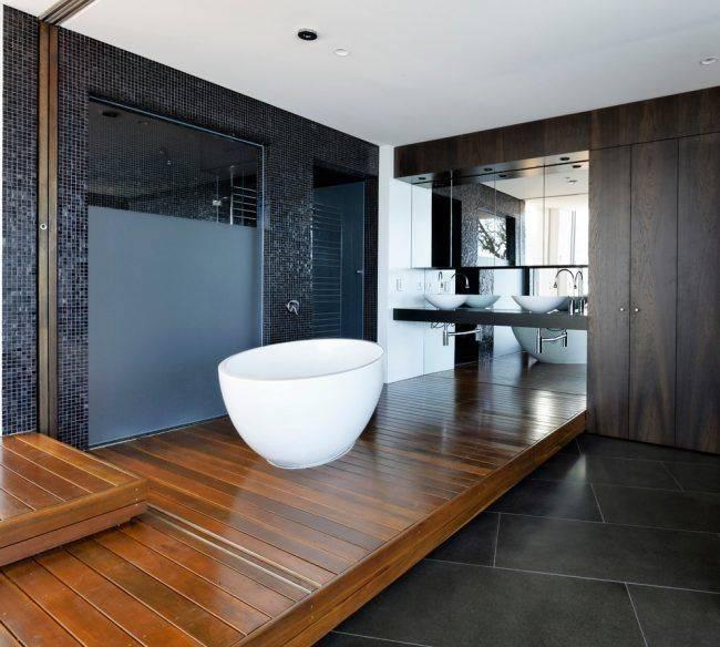 Ванная под дерево: лучшие идеи оформления дизайна (55 фото)