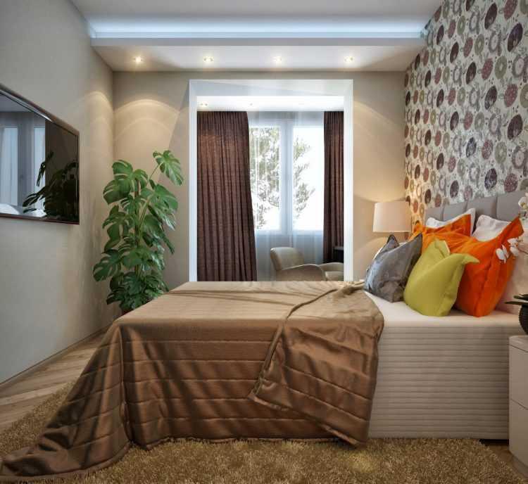 Дизайн спальни 15 кв. м: прямоугольная и квадратная планировка, реальный дизайн комнаты 16 метров