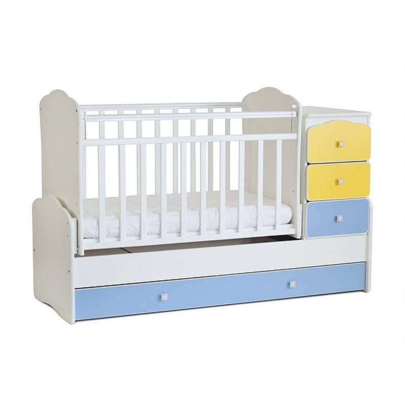 Детская кроватка-маятник: зачем нужна, виды маятников, особенности