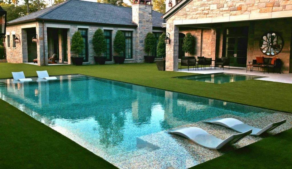 Задний двор: 150 фото идей оформления и обустройства частного дома своими руками