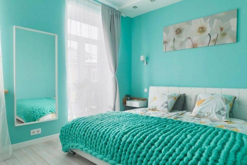 Стены бирюзового цвета: необычные идеи, примеры красивых сочетаний и варианты оформления стен (90 фото)