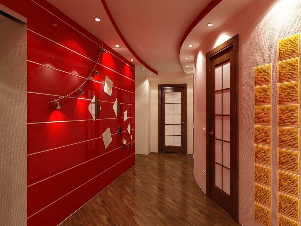 Декоративные кирпичики на стену в коридоре и прихожей: отделка под кладку, имитация  - 26 фото