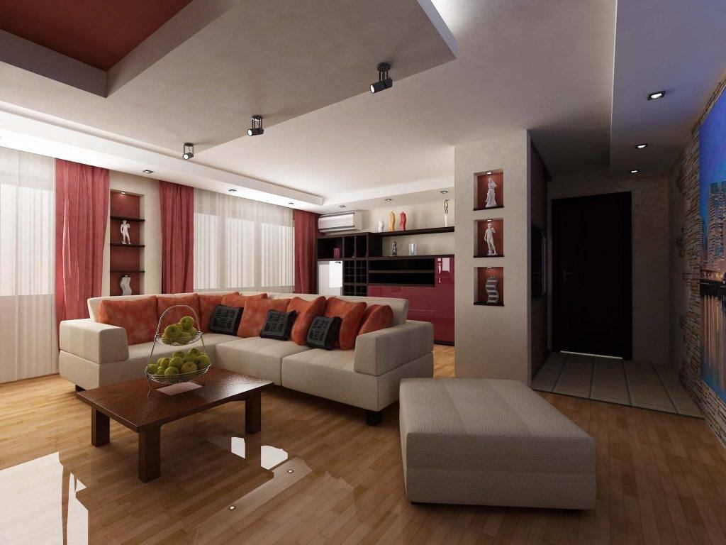 Дизайн квартиры-студии 20 кв