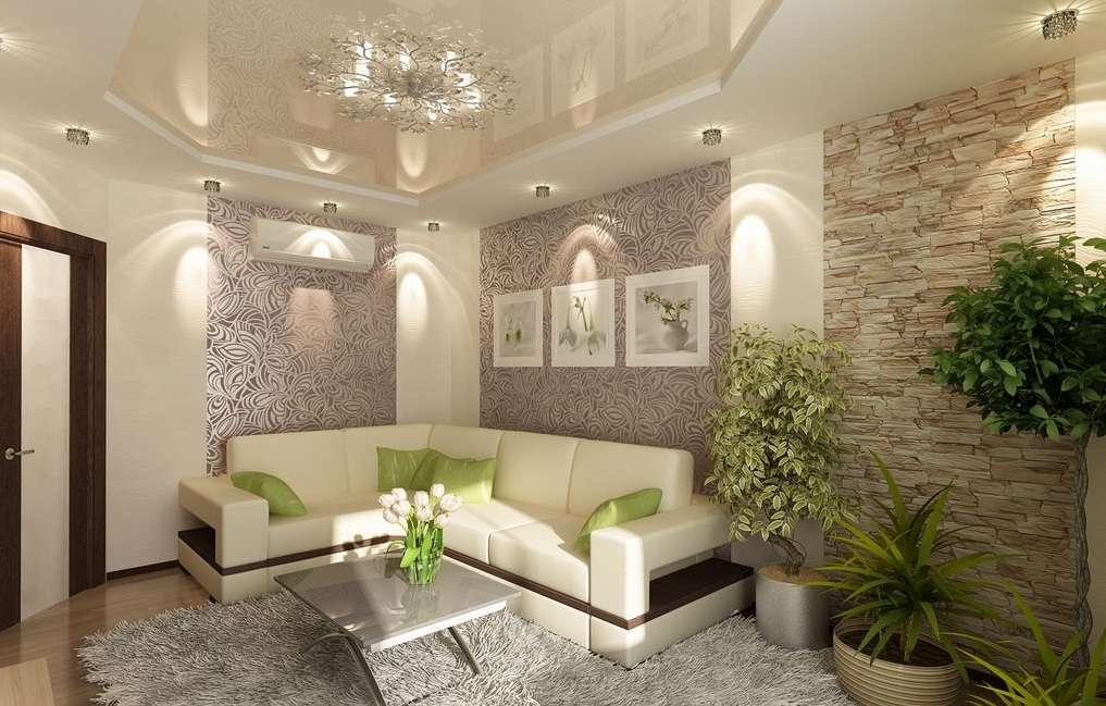 Дизайн зала в квартире: приемы отделки, выбор стиля и оформление