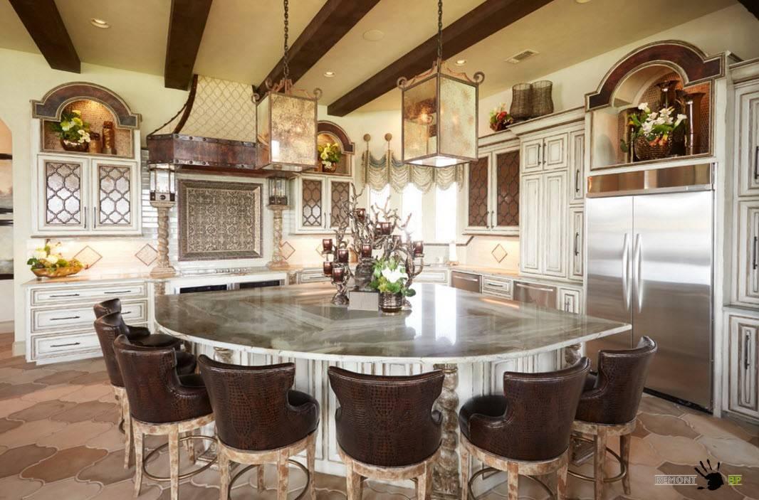 Кухня в частном доме: особенности, идеи и рекомендации по обустройству дизайна интерьера в частном доме