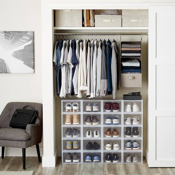 Хранение обуви: в шкафу, прихожей, гардеробе и на балконе, способы хранения и лайфхаки