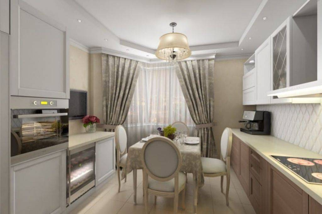 Кухня с эркером: самые уютные дизайнерские решения (24 фото)