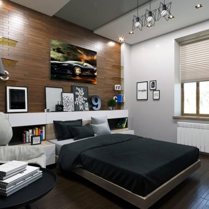 Особенности в оформлении интерьера комнаты юноши