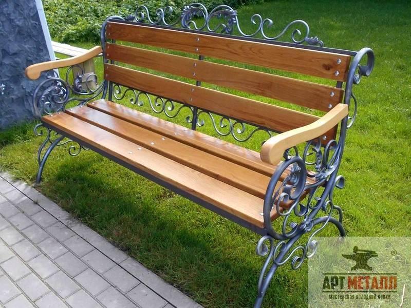 Садовая скамейка своими руками (50 фото): инструкция по изготовлению