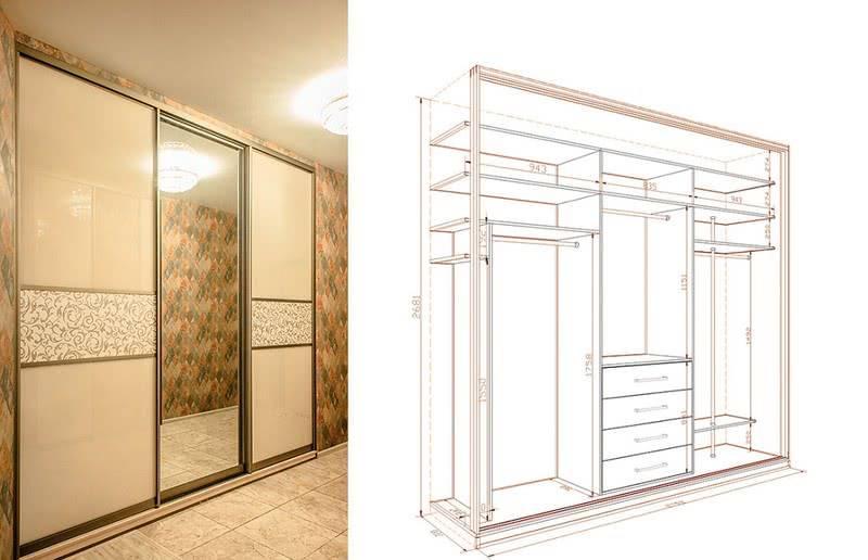Шкафы-купе: описание как выбрать дизайн, материалы и практичную модель шкафов-купе (170 фото)
