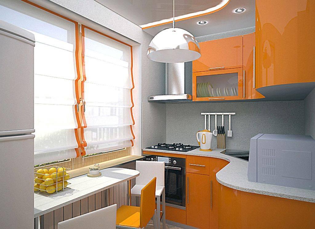 Дизайн кухни 2 на 3 метра: 50 фото вариантов интерьера