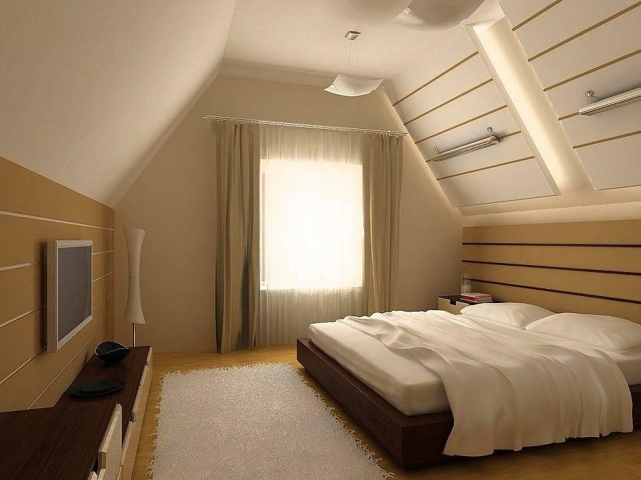 Дизайн и обустройство мансардного этажа частного дома