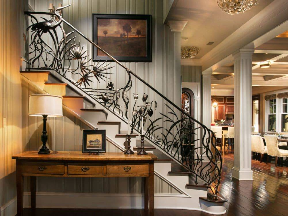 Отделка лестницы в доме: 100 фото красивых идей дизайна