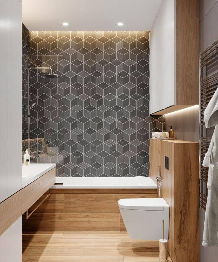 Модные стены в ванной комнате: как их отделать? (40 фото) | дизайн и интерьер ванной комнаты