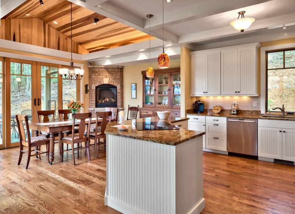 Особенности выбора стиля и дизайна кухни для частного дома