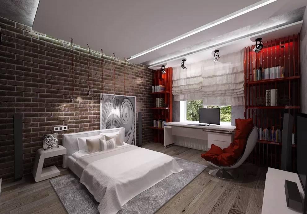 Комната молодого человека — идеи современного дизайна интерьер и дизайн