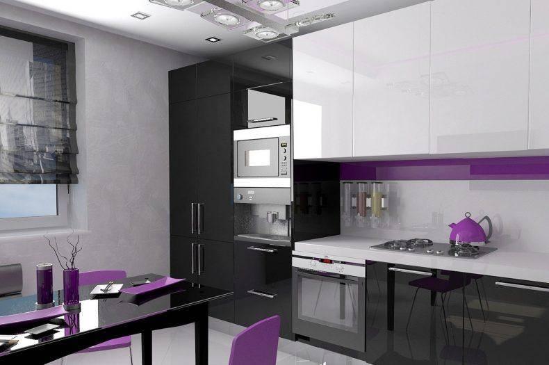 Кухня в стиле хай-тек 2021 в малогабаритной квартире: особенности оформления, современные идеи дизайна интерьера, реальные фото