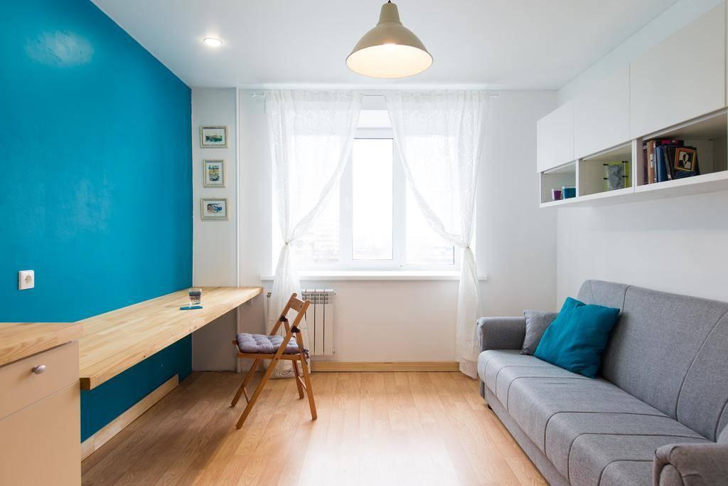 Дизайн комнаты в общежитии: 18 кв м или 12 кв м