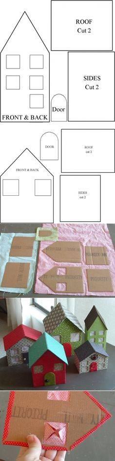 Кукольный домик из картона своими руками с чертежами и видео