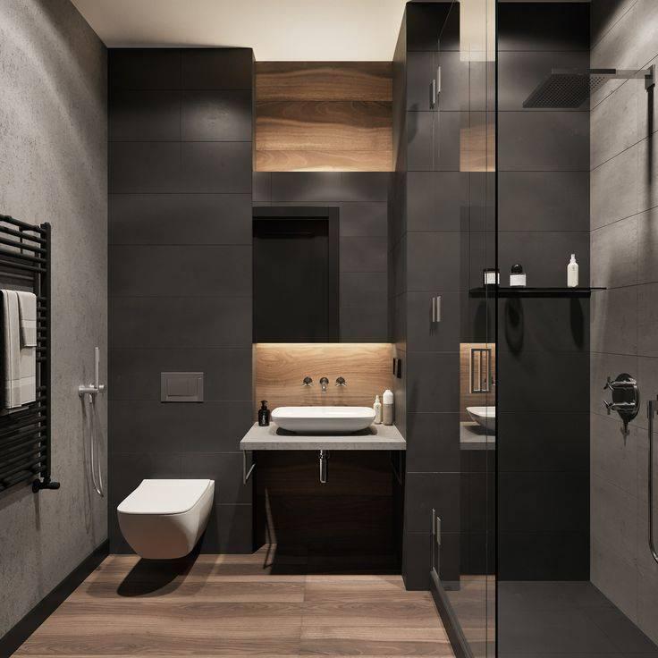Ванная комната в стиле лофт для дома и квартиры