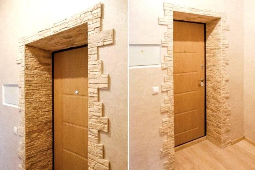 Оформление дверного проема без двери: чем отделать и как декорировать переход из коридора в кухню  - 38 фото
