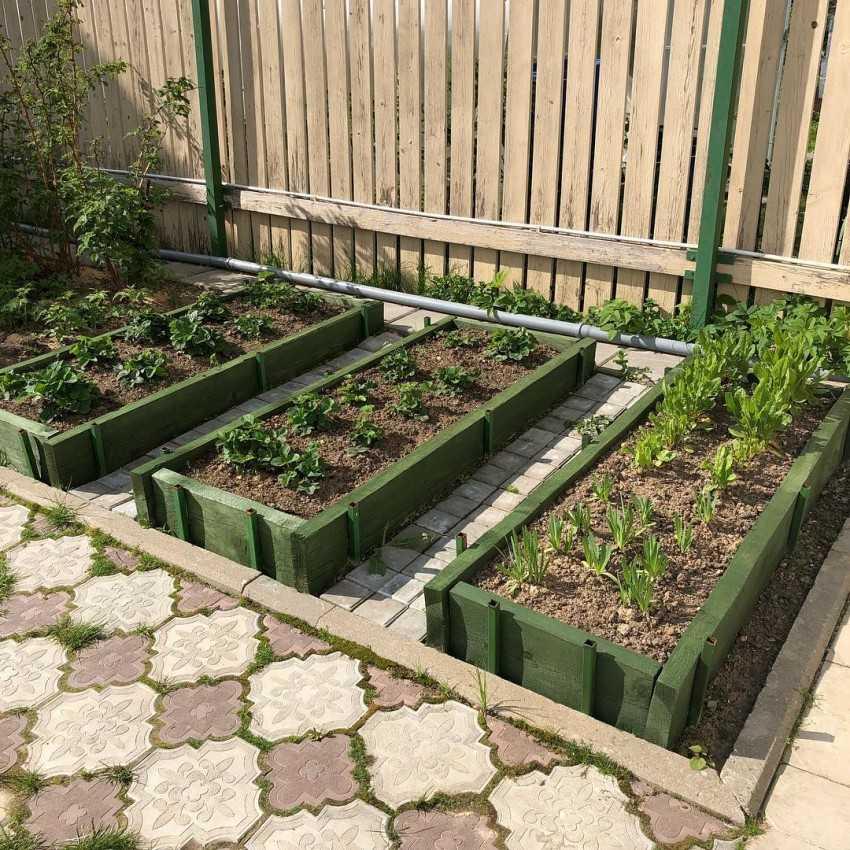 Чем огородить грядки на даче из подручных материалов дешево