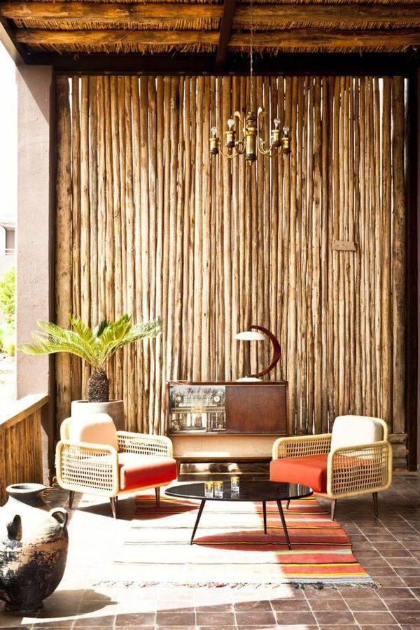 Бамбуковые обои — идеи сочетания и оформления в интерьере (100 фото)