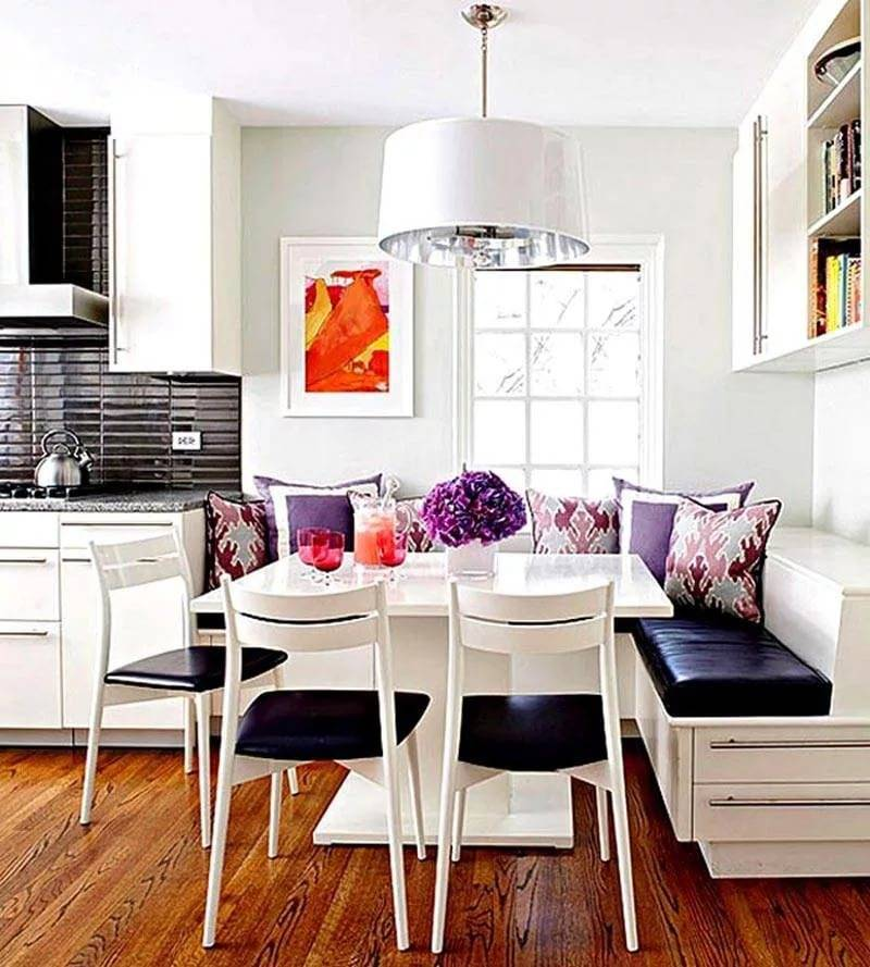 Диванчик на кухню: топ-150 фото новинок с красивым дизайном